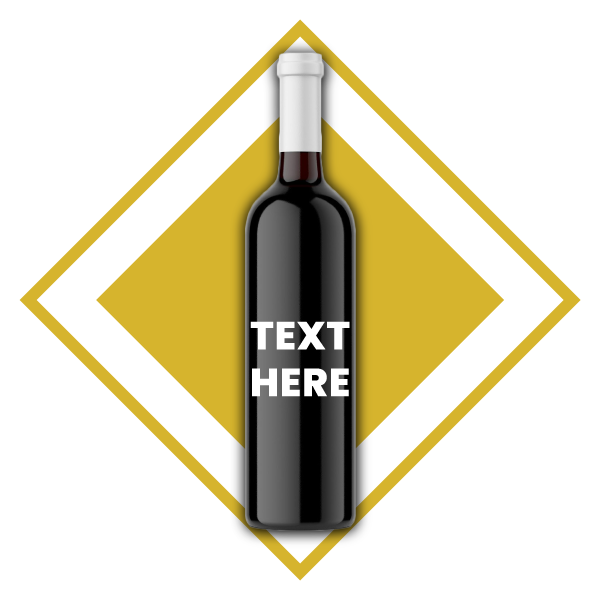 3. Text engraving on bottle up to 50 words